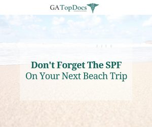 Don't Forget The SPF On Your Next Beach Trip